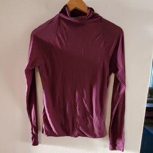 Kenneth Cole Purple Long Sleeve Blouse - L